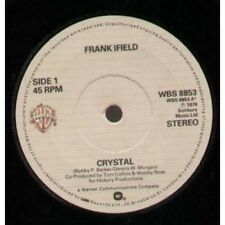 "FRANK IFIELD Crystal 7"" VINYL UK Warner 1979 B/W Touch The Morning (Wbs8853)"