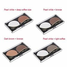 Double Colors Professional Women Make Up Powder Bronzer Face Shading Powder F2