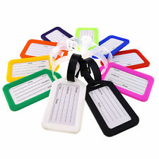Luggage Tags Suitcase Label Name Address ID Bag Baggage Holiday Travel Tag