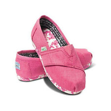 Toms Earthwise Classics Pink Recycled Vegan Infant/Youths Shoes