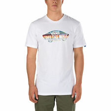 Vans OTW Fill T-Shirt White / Blue Mirage Rockway Stripe