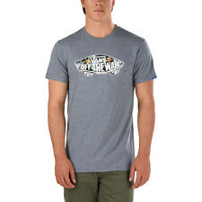 Vans OTW Fill T-Shirt Heather Grey / Black Decay Palm