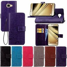 Magnetic Flip PU Leather Case For Various Samsung Galaxy Phones Wallet Cover