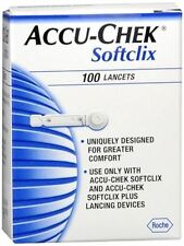 ACCU-CHEK Softclix New Sealed 100 per Box NOT EXPIRED