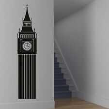 Londra Big Ben Punto Di Riferimento Wall Sticker Decorazioni Adesive Transfer