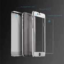 iPAKY 360 Degree Hybrid Front Back Cover Case Glass For Apple iPhone 6 6S 5 5s