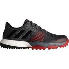 New Adidas AdiPower Sport Boost 3 Men's Golf Shoes Black/Red - Q44778