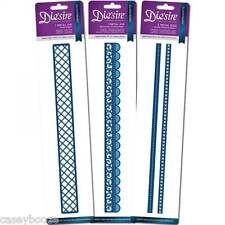 """Crafters Companion Die'sire Ribbon Threading Dies - 12"""" - Set 1 Or Set 2 - SALE"""