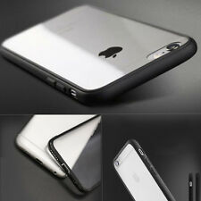 COVER Custodia bumper Morbida TPU+PC TRASPARENTE GEL Silicone per Apple iPhone