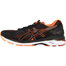ASICS Gel-kayano 23 Men Uomo Scarpe da corsa black orange scarpe t646n-9030