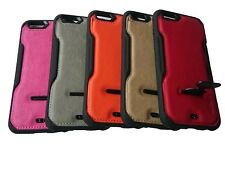 NEW DESIGN STAND & SHOCK RESISTANCE PU CASEs FOR MOBILE PHONE, iphone/Samsung