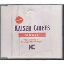 KAISER CHIEFS Everything Is Average Nowadays CD European B Unique 2007 1 Track