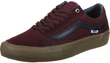 Vans Old Skool Pro Skate Schuhe port black gum