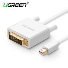UGREEN Mini DP to DVI Converter Thunderbolt to DVI Adapter Video HDTV Cable Mac