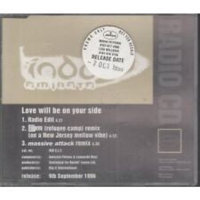 INDO Love Will Be On Your Side CD UK Manifesto 1996 3 Track Radio Edit Promo In