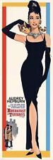 New Audrey Hepburn stars in Breakfast at Tiffanys Door Poster