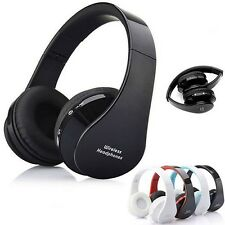 Senza fili Bluetooth Stereo Mic Cuffie Cuffie per iphone Samsung PC Sanwood