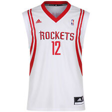 ADIDAS Houston RAZZI DWIGHT HOWARD 12 REPLICA MAGLIA BIANCO NBA da basket
