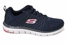 SCARPE SKECHERS FLEX ADVANTAGE 2.0 THE HAPPS MEMORY FOAM blu uomo 52185 NVRD