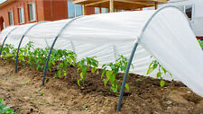 Hoop House Low Tunnel Greenhouse for Season Extension and Winter Gardening