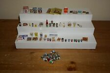 Dollhouse Miniatures Groceries Magazines & More Lot