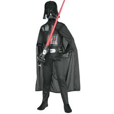 Child Licensed Star Wars Darth Vader Boys Childs Kids Fancy Dress Costume 882009