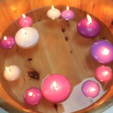 Floating Candles 4 Colours, Packs of 20 Small or Packs of 6 Large FREE P&P