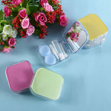 Creative Storage Contact Lens Case Box Holder Container Contact Lenses Box WW