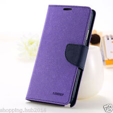 Universal wallet style flip back cover case for all Micromax 5 inch models phone