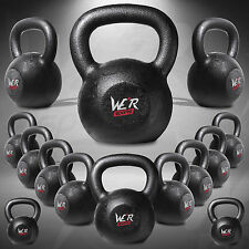 Cast Iron Kettlebells Weight Strength Fitness Kettlebell Training 2kg to 40kg