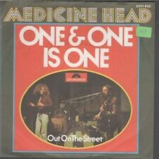 """MEDICINE HEAD One And One Is One 7"""" VINYL German Polydor 1973 B/W"""