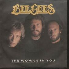 "BEE GEES Woman In You 7"" VINYL German Rso 1983 B/W Stayin Alive (8131737) Pic"