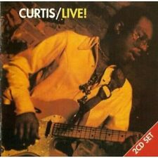 CURTIS MAYFIELD Curtis/Live! DOUBLE CD European Movie Play Gold 1993 16 Track
