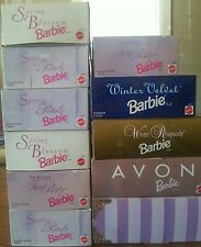 Lot of 11 All Different Barbie Doll all in box sealed brand new Mattel
