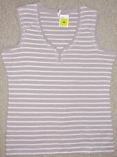 Mujer Rosa Oscuro Rayas Camiseta De Marks & Spencer Sizes 12 to 20 BNWT