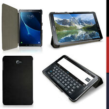 """PU Leather Smart Cover for Samsung Galaxy Tab A 10.1"""" SM-T580 T585 Stand Case"""