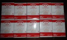 Lot of 10 Holiday Time 100 Clear White Mini Lights white wire Wedding,  NEW