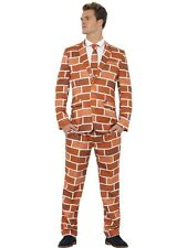 SALE Adult Funny Off The Wall Stand Out Suit Mens Fancy Dress Stag Party Costume