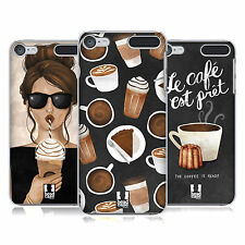 HEAD CASE DESIGNS FRENCH CAFE HARD BACK CASE FOR APPLE iPOD TOUCH MP3