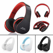 Foldable Wireless Stereo Bluetooth Headset Headphones +Mic For iPhone Samsung PC