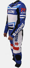 MotoGp MotorBike Racing Leather Suit Sports Motorcycle Cowhide Leather Suit