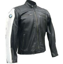 BMW Motorbike Leather Jacket Racing Motorcycle Cowhide Leather Jacket All Size