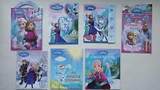 Selection of Disney Frozen Books & Activities (Choice of 7)