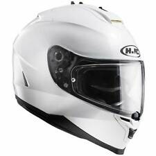 HJC IS-17 IS17 Blanc Perle Sport Touring Intégral Casque Moto