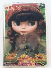 Retired New Blythe 2008 Schedule Book & Bookmark Features Gentle River Doll