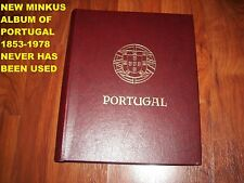 NEW MINKUS ALBUM OF PORTUGAL 1853-1978 (Never Has Been Used)