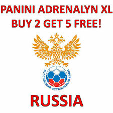 RUSSIA - PANINI - ROAD TO 2018 FIFA WORLD CUP RUSSIA ADRENALYN XL