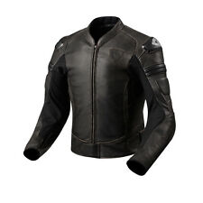 REV'IT! AKIRA VINTAGE MOTO PELLE URBANO COPERTURA marrone scuro REV. IT REVIT