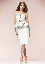 Forever Unique Stacey Embellished Strapless Evening Prom Races Dress in Ivory