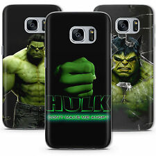 L'incroyable Hulk Avengers Marvel Étui Coque Samsung Galaxy S5 S6 S7 Edge S8 +